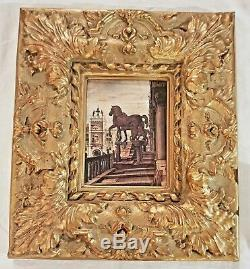 11pc Lot Hollywood Regency Gold Vtg Wall Decor Sconces Shelves Italy Tray Syroco