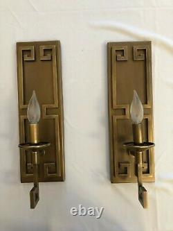 (1) Currey and Company 5230 Greek Key One Light Wall Sconce