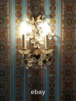 Antique/ vintage wall sconces small is 8W x 14H