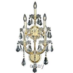 Elegant Lighting 2801W5G/SS Maria Theresa Wall Sconces Gold