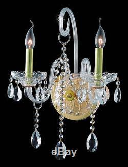 Elegant Lighting 7952W2G/SS Verona Wall Sconces Gold