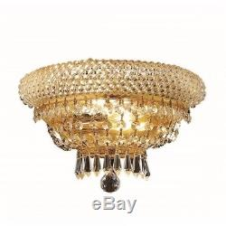 Elegant Lighting Primo 8 2 Light Royal Crystal Wall Sconce
