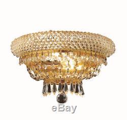 Elegant Lighting V1803W12G/RC Primo Wall Sconces Gold
