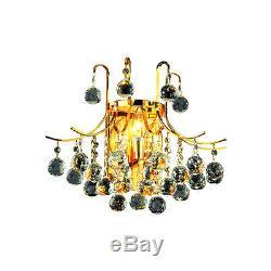 Elegant Lighting V8000W16G/SS Toureg Wall Sconces Gold