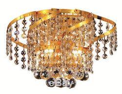 Elegant Lighting VECA1W12G/SS Belenus Wall Sconces Gold