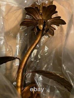 Fine Art Lamps 408050-2ST Pastiche 1 Light 8 inch ANTIQUE Gold Wall Sconce Light