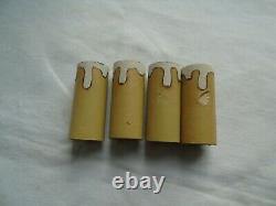 French a pair of gold bronze wall light sconces classic antique / vintage