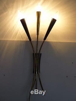 Mid century wall lamp STILNOVO Arredoluce sconce, panton sarfatti