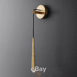 Modern LED Brass Wall Lamp Indoor Gold Metal Wall light Art wall Sconce Bedside