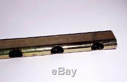 Modernist Wall Lamp 1960s 70s Itay Bar Sconce Vintage Space Age Mid Century Gold
