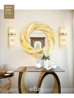 Nordic Modern Style Glass Rod Sconce Gold Finish E14 Light Wall Lamp Fixture