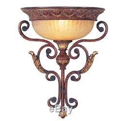 Rustic Villa Verona Livex Bronze Wall Sconce Lighting Fixture Lamp Sale 8580-63