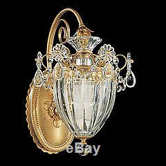 Schonbek Bagatelle French Gold Heritage Crystal Wall Sconce