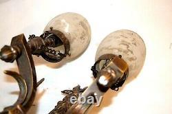 Segovia 2 Light Wall Sconce Cyan Lighting Brass Light Fixture Spanish Style
