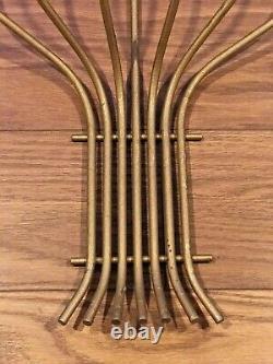 VTG Mid-Century Modern Candelabra Sconces Wall Candle Holder Tommi Parzinger LRG