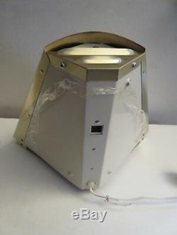 Vintage Pin-up Plug-In Corner Wall Sconce Lamp Pair Hollywood Regency Nos Nice