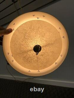Vintage WALL SCONCE LIGHT Fixture mid century modern lamp elbow PULL DOWN retro