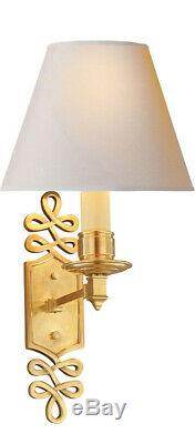 Visual Comfort & Co. AH2010NB-NP OPEN BOX Alexa Hampton Wall Sconce