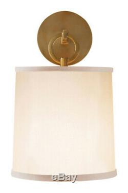 Visual Comfort & Co. BBL2035SB-S OPEN BOX Barbara Barry French Cuff Wall Sconce
